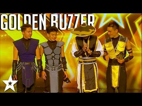 Adem Dance Crew - Mortal Kombat - Asia's Got Talent 2017