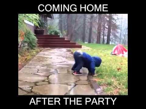 Kun yrität tulla aamulla kotiin mutta olet edelleen kännissä