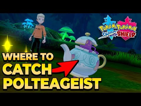 Where To Catch Polteageist In Pokemon Sword And Shield