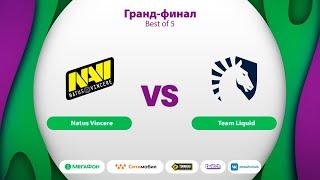 Natus Vincere vs Liquid, MegaFon Winter Clash, bo5, game 1 [Maelsorm & NS]