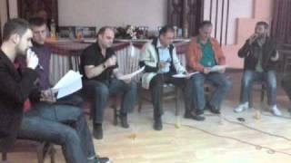 Ylber Aliu,adem Ramadani,adnan Daci ,vellezerit Aliu Bekimi Prova Per Koncert Ilahi