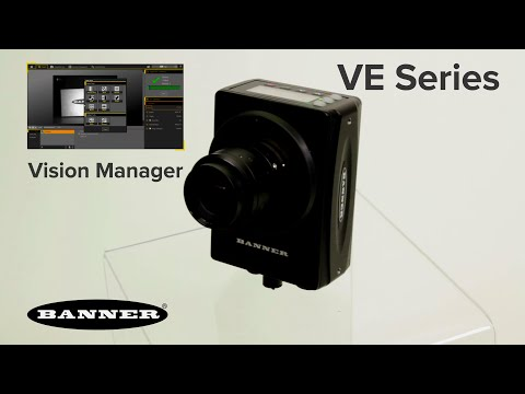 Vision Manager Software for VE Series Smart Cameras