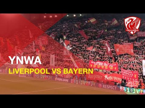 Superb You'll Never Walk Alone | Liverpool Vs. Bayern Munich | Anfield