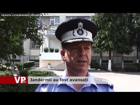 Jandarmii au fost avansați