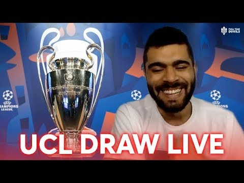 UNITED vs BARCA! | UEFA Champions League Draw Reaction
