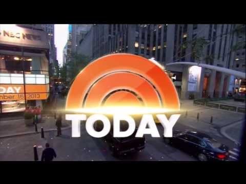 TODAY Show – New Set, New Graphics, New Music Montage LATE 2013