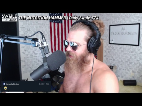 THE NUTRITION HAMMER  Daily Swole 774