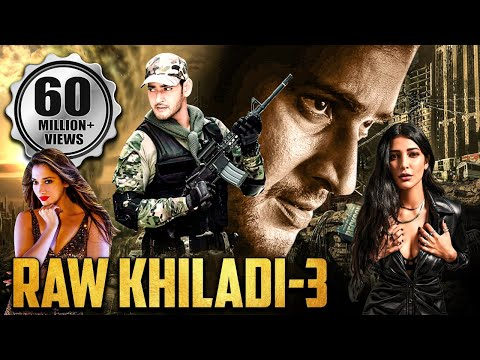 RAW KHILADI 3 | MAHESH BABU NEW RELEASED Movie | Mahesh Babu Movies In Hindi Dubbed Full