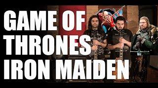 O tema de abertura da série Game Of Thrones na versão estilo Iron Maiden. Com Marcos Coluci (Ilusória) na guitarra. Um obrigado em especial ao Ricardo Flausino (baixo) e Nicko McBrain (bateria).Inscreva-se aqui e fique por dentro das novidades: https://www.youtube.com/rodflausinoFique à vontade para mandar dúvidas e sugestões que ficarei feliz em responder.http://rodflausino.com.brhttp://www.facebook.com/rodflausinohttp://twitter.com/rodflausinoAulas de guitarra presenciais em Osasco-SP e Alphaville (Barueri e Santana de Parnaíba) e região. Disponibilidade para aulas via Skype. Consulte aqui: rod_flausino@hotmail.comCaptação de imagem: Marcos Coluci https://www.facebook.com/marcos.coluciCaptação de áudio e locação: Vitrola Estúdiohttps://www.facebook.com/vitrola.estudio.1