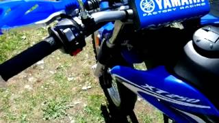 4. 2014 YAMAHA XT250 WALKAROUND INITIAL REVIEW