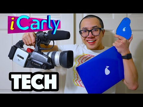 iBOUGHT iCARLY TECH IN REAL LIFE