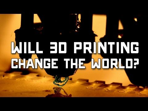 Will 3D Printing Change the World? | Off Book | PBS