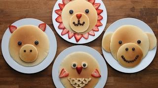 Animal Pancakes by Tasty