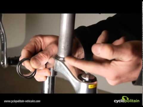 comment monter une fourche vtt