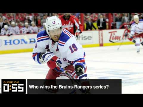 rangers chelsea - (Boston Globe) In this episode of Globe 10.0, Kevin Dupont and Adam Kaufman give us their predictions on the Bruins-Rangers series.