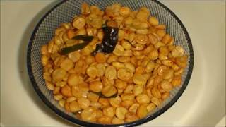 Chana Dal Namkeen  is a snack item which can be serve along with tea or just as a munching snack. Better than any store bought snack for kids. Try this at home and you will love it.