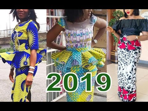 2019 Ankara Styles Pictures And Aso Ebi  To Wow This Lovely New Month