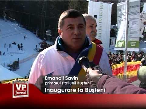 Inaugurare la Buşteni