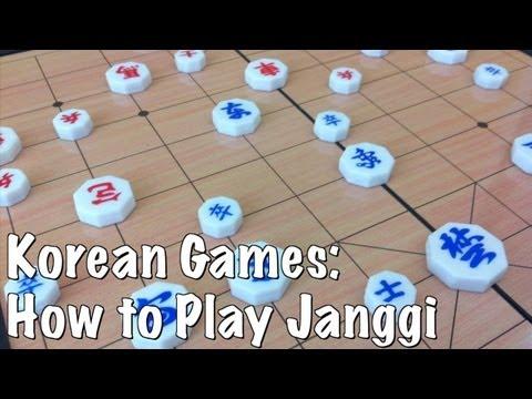 Korean Games: How To Play Janggi (Korean Chess)