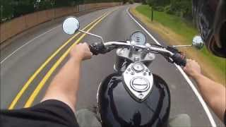 7. 2010 Triumph speedmaster review walk around
