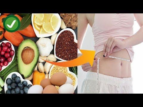 Dieta para bajar de peso - 8 Alimentos que te ayudarán a Bajar de Peso