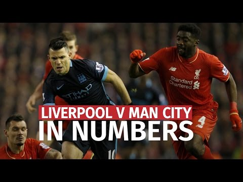 Liverpool V Manchester City In Numbers