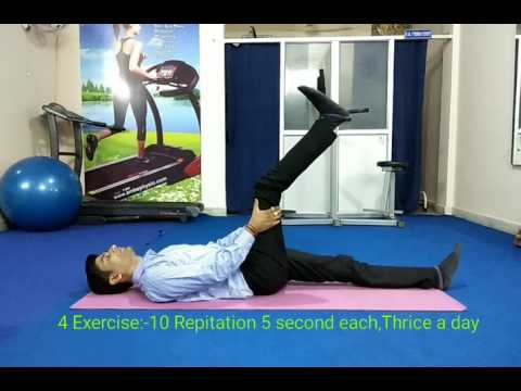 6 Best Physiotherapy Exercises for L4-L5 slipped disc at home