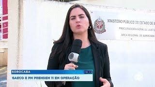 Gaeco e PM prendem 11 em operação que desarticulou organização criminosa