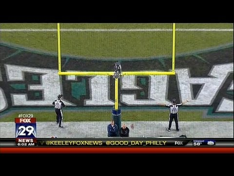 Eagles Beat Giants, 19-17
