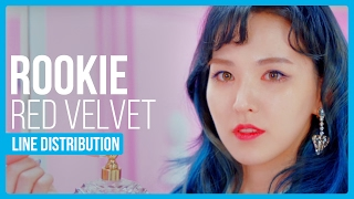 Video Red Velvet - Rookie Line Distribution (Color Coded) MP3, 3GP, MP4, WEBM, AVI, FLV Januari 2018