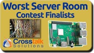 Worst Server Room Contest - Finalists!