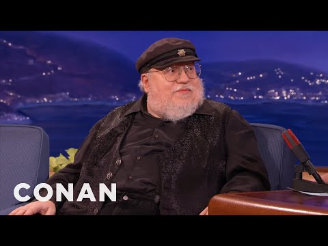 George R R Martin Explains Why He Writes Game of Thrones in