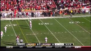 Kenny Stills vs Iowa State, West Virginia, Oklahoma State (2012)