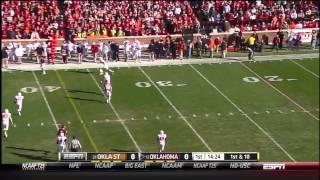 Kenny Stills vs Iowa State, West Virginia, Oklahoma State (2012)