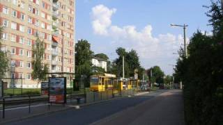 Gera Germany  city photo : A Walk Along Berliner Strasse, Gera