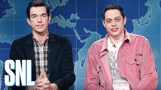 Weekend Update: Pete Davidson & John Mulaney Review Clint Eastwood's The Mule - SNL