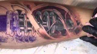 Video Tattoo artist András Gombos TURANIUM TATTOO MACHINE MP3, 3GP, MP4, WEBM, AVI, FLV Juni 2018