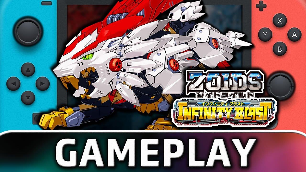 Zoids Wild: Infinity Blast   Nintendo Switch Tutorial Gameplay