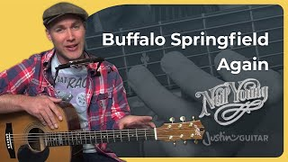 How to play Buffalo Springfield Again by Neil Young (Guitar Lesson ST-904)