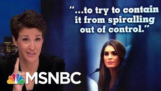 Video Hope Hicks Transcript Provides Window On 2016 Dual Trump Tape Crises | Rachel Maddow | MSNBC MP3, 3GP, MP4, WEBM, AVI, FLV Juli 2019