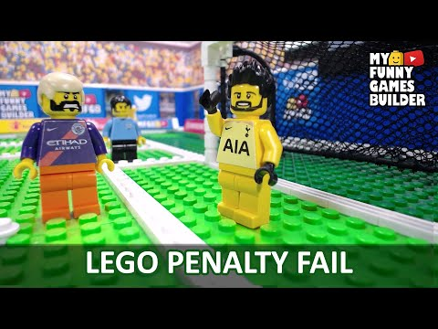 LEGO Football Penalty Fail • LEGO in Real Life !!!