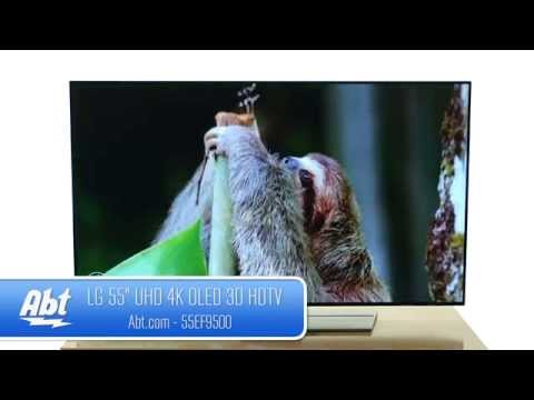 LG 55 Silver UHD 4K OLED 3D Smart HDTV With WebOS 2.0 55EF9500 - Overview