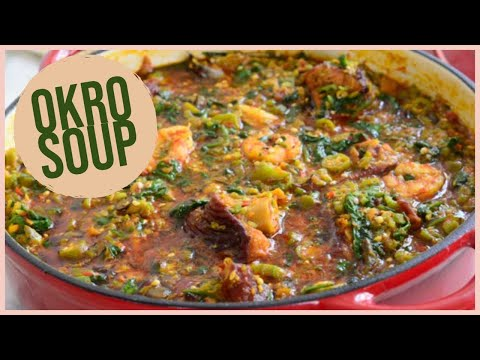 Okro Soup With Spinach | Gumbo