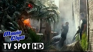 Transformers: Age of Extinction TV Spot - Dinobots (2014) HD