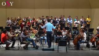 Ensayo de la Orquesta Sinfónica de Yucatán