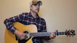 I Lived It - Blake Shelton - Guitar Lesson | Tutorial
