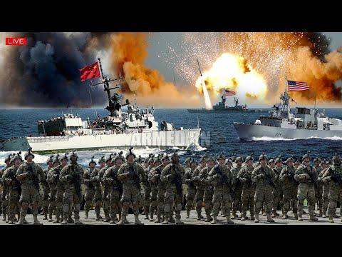War begins (Nov 28) US & Japan Navy Sent 45000 troops to intercept China warships in Senkaku Island