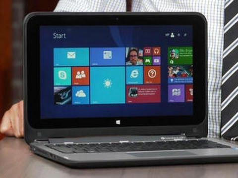 X360 - http://cnet.co/1sICjt8 With an 11-inch screen and low price, the HP x360 competes with Lenovo's own entry level Yoga, but a dim screen holds it back.