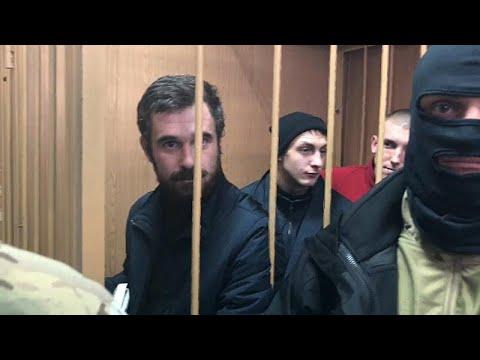 Αγωνία για τους 24 Ουκρανούς ναυτικούς-πιθανή ανταλλαγή κρατουμένων …