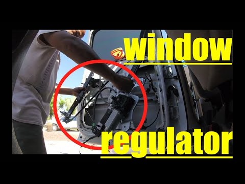 [this is too easy] window regulator replacement Chevy SUBURBAN√ fix it angel